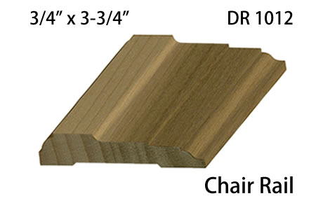 DR 1012 Chair Rail