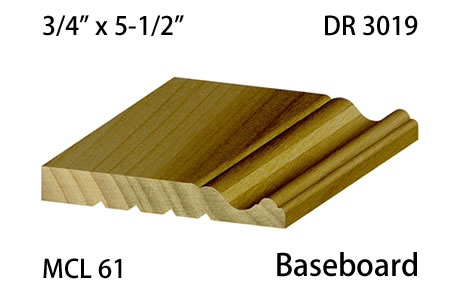 DR 3019 MCL 61 Baseboard