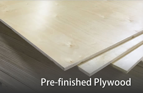 Pre-finished Plywood